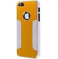 Newest Luxury Blade Runner Brushed Metal Steel Aluminum Chrome Hard Back Case Cover For iPhone 5 5S