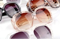 Free shoppingCrystal clear Ms in Europe and the trend of the male sunglasses The big box star sunglasses