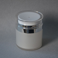 50ml airless jar,acrylic jar,cream jar,cosmetic jar