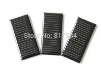 Free shipping diy solar panels. 2.5v40ma Monocrystalline solar panel.  Epoxy boards polycrystalline solar photovoltaic panels