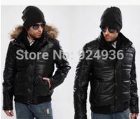 Free shipping Men Winter Warm Jacket Men's Hooded Wadded Coat Winter Thicken Outerwear Male Slim Casual Cotton-padded Outwear