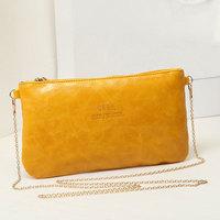 Promotion 2014 brand new women clutch chain small shoulder bag Mobile Messenger  bag mini handbag free shipping
