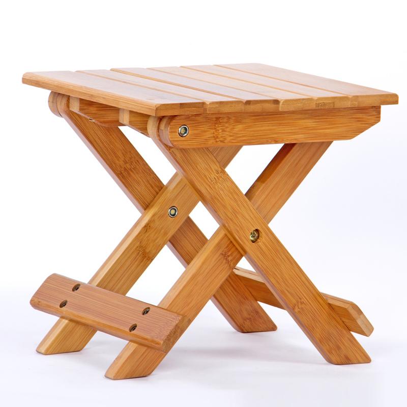 bambù piegato sedia tutti mobili di bambù puro e naturale verde ottomana
