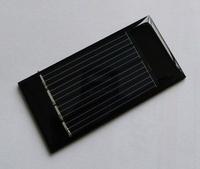 Free shipping .Toys for solar cells. Epoxy plate 55 * 25  2v  30ma crystalline silicon solar panel board.mini solar panel