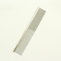 dreambows Steel Pet Hair Trimmer Comb #dg1003 Dog Cat Grooming Dressed Hair Comb Free Shipping