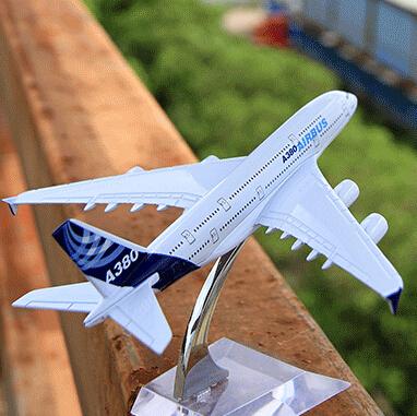 14CM/5.5in Original B380 passenger plane alloy model by Terebo(China (Mainland))