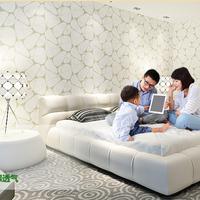 papel de parede Non-woven wallpaper modern Korean living room bedroom abstract pebble nest bedroom TV background wall paper roll