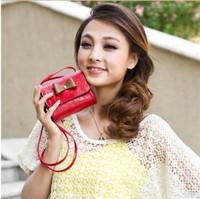 2014 summer new Korean female bag ladies shoulder bag diagonal fashion bow small bag ladies bag