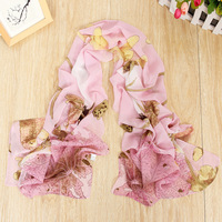 New arrival!!!  fresh chiffon silk imitation scarf  Women autumn and winter  fashion cape Scarves