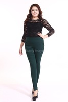 Plus Size XXXL-6XL Elastic High Waist Stretch Casual Pants Women Big Size 6XL