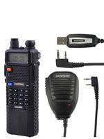 Pofung radio transmitter uv-5r,fm radio UHF VHF dual Band,with 3800mAh Li-ion battery built+baofeng original cable+speaker Mic