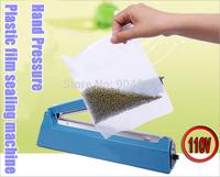 NEW 110V 200 Hand pressure PP PE Sealer plastic film manual impulse sealing machine packing machine/tools