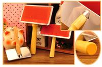 Free Shipping Pet Supplies wooden handle needle comb pet comb pet dog comb dog comb needle cleaning brush