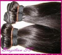 "Wholesaler or distributor choice 1kilo 6A Brazilian VIRGIN STRAIGHT human hair weaves (10""-30"") For Your WestKiss Shop"