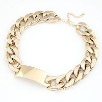Wholesale Jewelry Fashion Cheap Metal punk chain chunky necklaces & pendants # ftchen_110527102