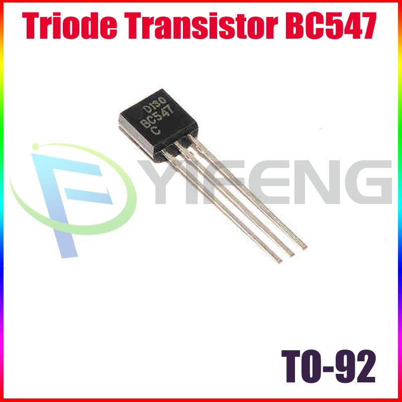 небольшой транзистор BC547