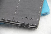"""CSCASES Quality PU Leather Protective Case Skin Cover+Screen Protector Film For 9.7"""" Pipo P1 M6 M6 Pro 3G Tablet PC Black Blue"""