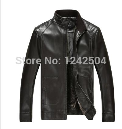 Кожаные куртки пальто