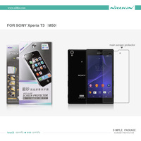 NILLKIN Matte Protective Film For Sony Xperia T3(M50) + retailed package + Free Shipping