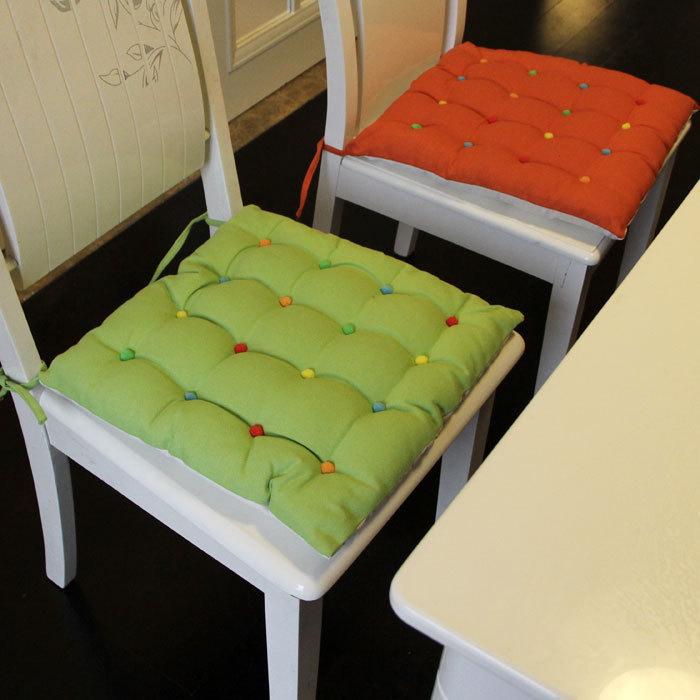 Как сшить круглую подушку на стул 17