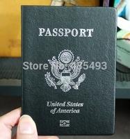 Passport modelling exercise books notepad laptops /USA