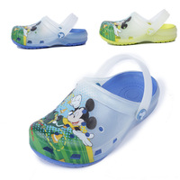 2014 new summer original COQUI boys princess Comfortable beach jelly eva garden  Clogs Sandal Shoes 7#-13#