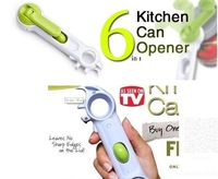 Happy Easy Buy-- As Seen On TV-Kitchen Cando - 6 Ways Opener - Bottles Opener-- Cans Opener