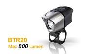 Free shipping Fenix BTR20 Cree XM-L T6 Neutral White 18650 LED Waterproof Rechargeable Bike light lamp Flashlight Torch