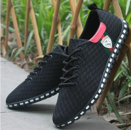 tamanho 39-46 venda! novo tênis verão zapato casual malha respirável lac