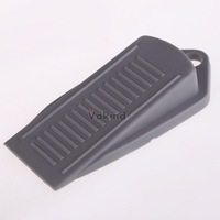 V1NF New Door Stopper Child Protection Product Baby Safety Gate Bumper Clip Grey