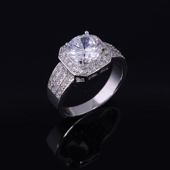 Циркон кольца для женщин обручальное кольцо большой ювелирные обручальные кольца ...