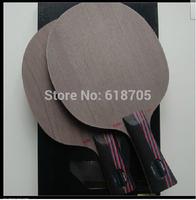 HOT-2PCS-STIGA CARBO 7.6 table tennis racket Red and black king carbon WRB pingpong balde