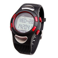 Portable sports pedometer infrared pulse watch heart rate monitor watch for fitness training