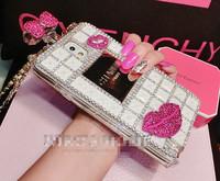 2014 New Arrival Fashion Bling Bling Diamond Perfume Bottle Phone Case Luxury Diamond Mobile Phone Case