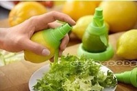 2014 new  3Pcs Cooking Tools Lemon Fruit Citrus Lime Orange Stem SprayerJuicer Kitchen Supplies  Juice Maker
