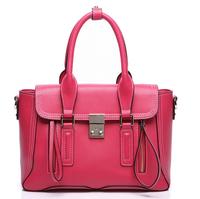New 2014 Autumn Winter Europe Hot Women Lady Genuine Leather Monster Smiley Handbag Top Quality Shoulder Messenger Tote Bag
