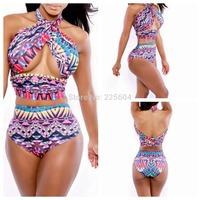 2014 New Summer Lady Girl Women's Bandage Bikini Set Dress Sexy Push Up Swimsuit Bathing Suit Swimwear Monokini Beachwear