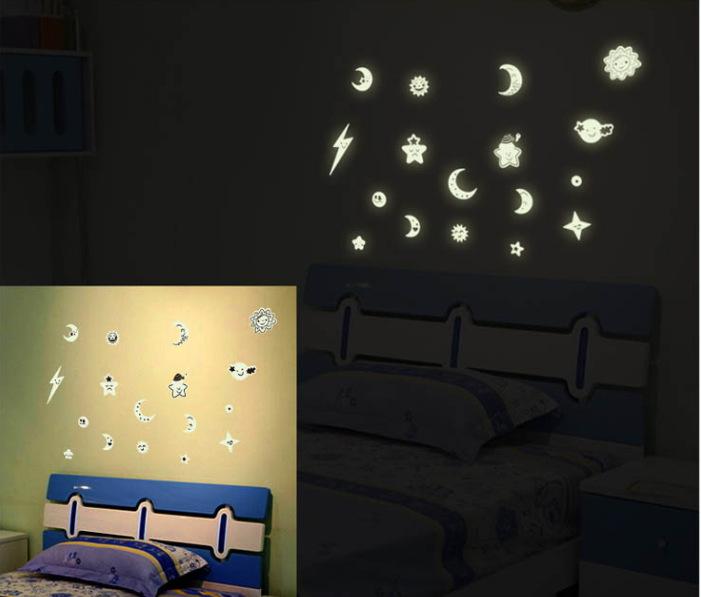 Glow Stars Wall Stickers ✓ Kamos Sticker
