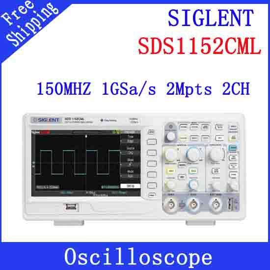 Осциллограф Siglent SDS1152CML 2 150 1 sa осциллограф siglent sds1102dl 100 2 7 32kpts 500msa s sds 1102dl