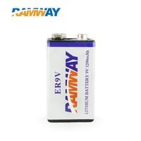 1200mAh Smoke Alarm 9V Lithium Battery ER9V