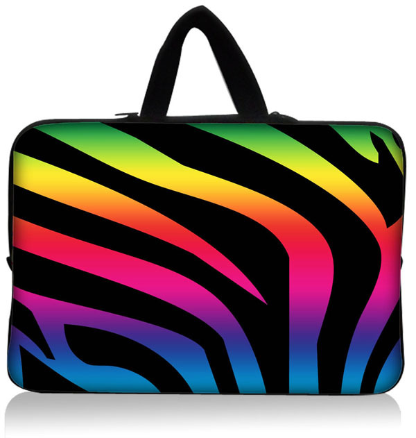 Laptop Colors Colorful Striped Laptop Sleeve