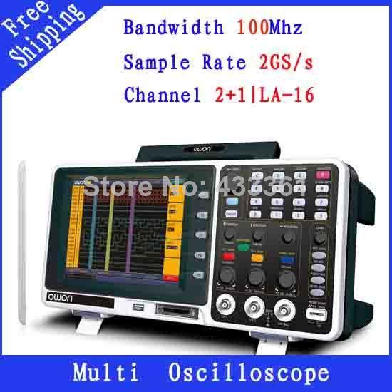 Осциллограф OWON 100 2GS/s 2 MSO8102T 8.0' осциллограф jds2022a 20m 200msa s