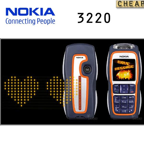 3220 Original nokia 3220 Mobile Phone GSM Quad Brand Cell Phone With Russian Polish Language Free Shipping Refurbished(China (Mainland))
