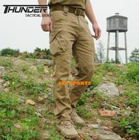 THUNDER TD-IX9 Urban Tactical Pants 97% Cotton 3% Spandex Men Outdoor Pants+Free shipping(SKU12050342)