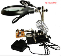 best! with LED power / magnifying glass with multiple multiples / circuit board soldering station / auxiliary repair tools