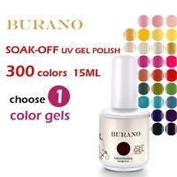 BURANO 200 Colors 2014 hot sale Shellac UV gel nail polish nail gel CND color coat nail gel nv polish 15ml 0.5oz  nail tools art