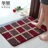 Free shipping!Bath mat door mat bathroom waste-absorbing big feet mats 60X40CM mats for kitchen bathroom carpet