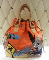 2014 new fashion Braccialini women shoulder bag women's brand canvas cartoon Koala bear messenger bags bolsas femininas