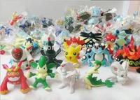 2014 New Arrival 25Pcs/Lot About 4cm-6cm Plastic Mini Pokemon,Moive & TV Action FIgures Toys,Send by Random,Free Shipping