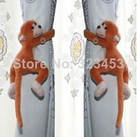 2pcs/lot Window Curtain Chain Tieback Belt Hook/Long-tail Monkey Curtain Buckle Accessory Belt furniture  Home Decor
